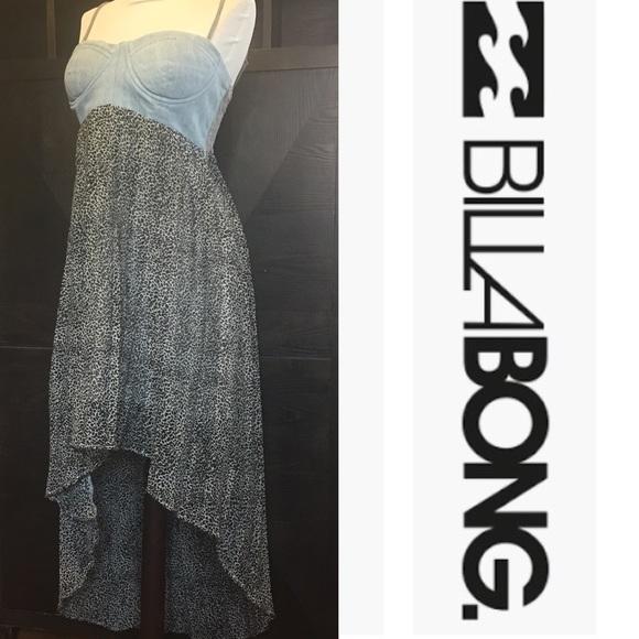 48a8aa651 Billabong Dresses   Skirts - Billabong Designer s Closet High-Low Bustier  Dress